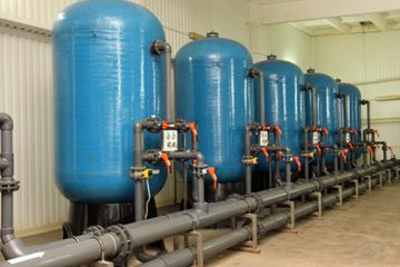 sistema de filtro de agua