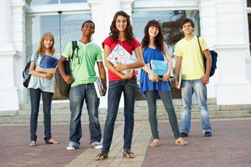 adolescentes en la escuela