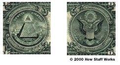 Fotografía - ¿Qué significan los símbolos en los EE.UU. Significa billete de $ 1?