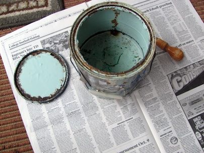 Fotografía - ¿Qué hacer con el viejo de pintura