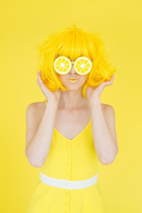Fotografía - Cuando la vida le da los limones: DIY limón Photo Booth