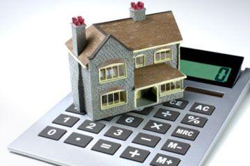 Casa en la calculadora