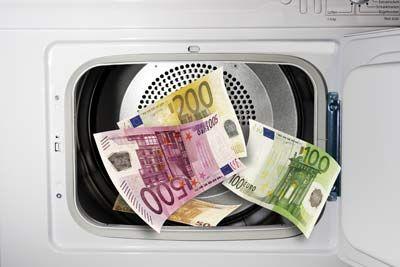 Fotografía - ¿Por qué no el papel moneda se desintegran cuando se lava en la lavadora?