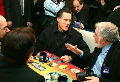 Mitt Romney politiquería menor