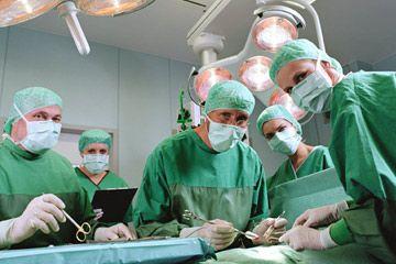 grupo de cirujanos
