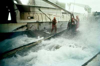 Fotografía - ¿Por qué fue la pesca de alaska nombrado el trabajo más peligroso en el mundo?