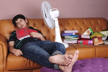 Fotografía - Will dormir con un ventilador en matarte?