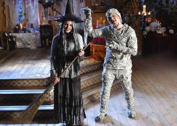 Punk Momia y Glam Disfraces de brujas