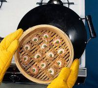 Por favor Steamer en wok.