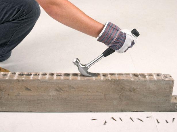 Fotografía - Trabajar con materiales de construcción recuperados