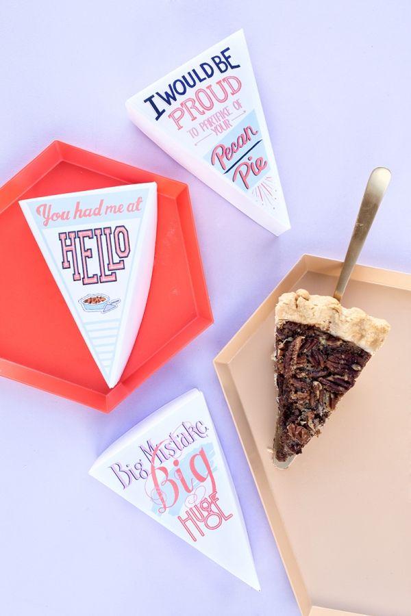 Fotografía - Usted me tenía en hola: Las etiquetas de sobra Pie (+ Una receta Pecan Pie!)