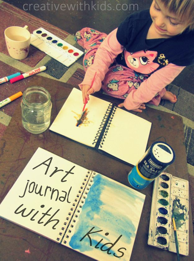 Fácil y sencillo Ideas para Proyectos de Arte para Educadores en el hogar | http://artesaniasdebricolaje.ru/cheap-and-easy-diy-projects-for-homeschoolers/