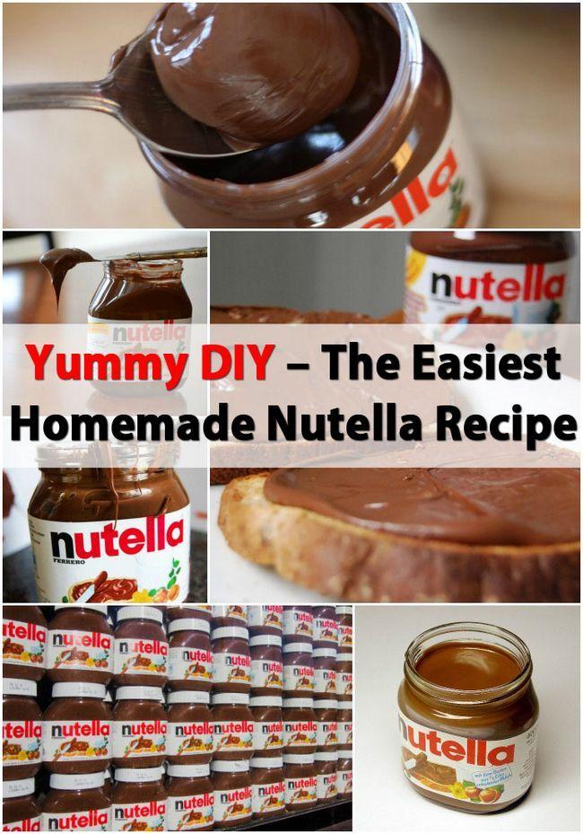 DIY Delicioso - El más fácil Receta Nutella Casera
